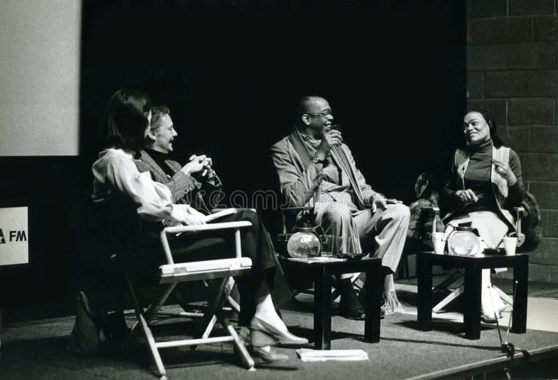 Geoffrey Holder y Eartha Kitt fotografía de archivo libre de regalías