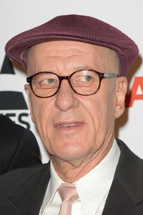 Geoffrey Rush. At AARP Magazine's Movies For Grownups, Beverly Wilshire Hotel, Bevely Hills, CA. 02-07-11 stock image
