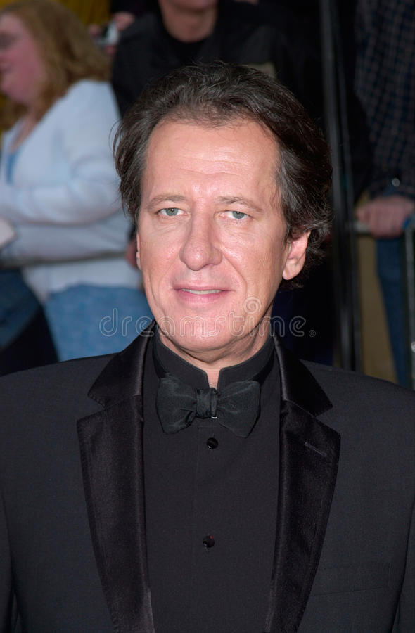 Geoffrey Rush. Actor GEOFFREY RUSH at the 7th Annual Screen Actors Guild Awards in Los Angeles. 11MAR2001. Paul Smith/Featureflash stock photo