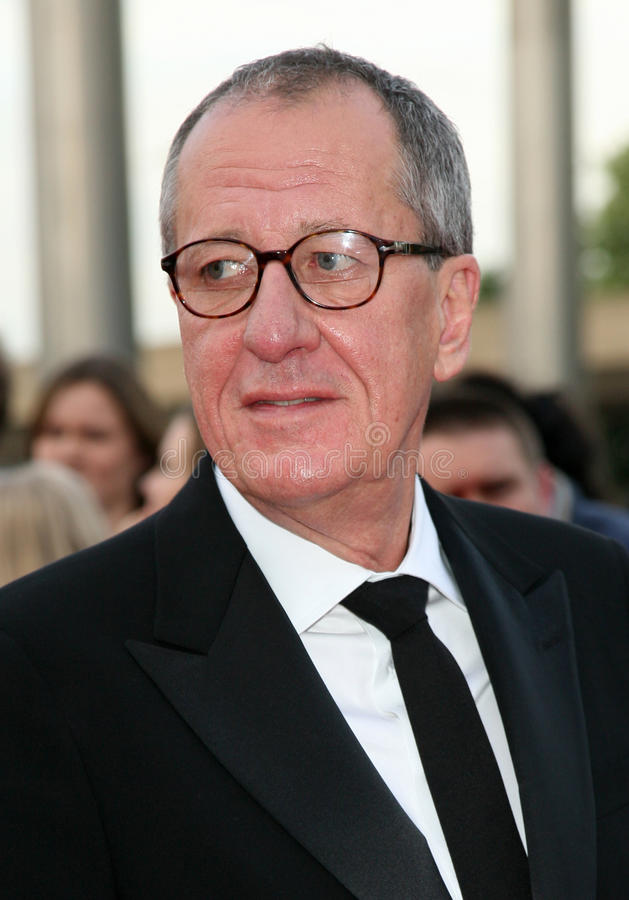 Geoffrey Rush. Arriving for the National Movie Awards 2011, at Wembley Arena, London. 11/05/2011 Picture By: Alexandra Glen / Featureflash royalty free stock images