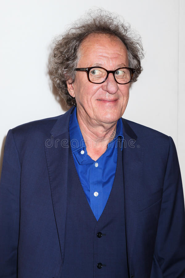 Geoffrey Rush. NEW VYORK, NT-APRIL 20: Actor Geoffrey Rush attends the `Genius` Premiere during the 2017 Tribeca Film Festival at BMCC Tribeca PAC on April 20 stock images
