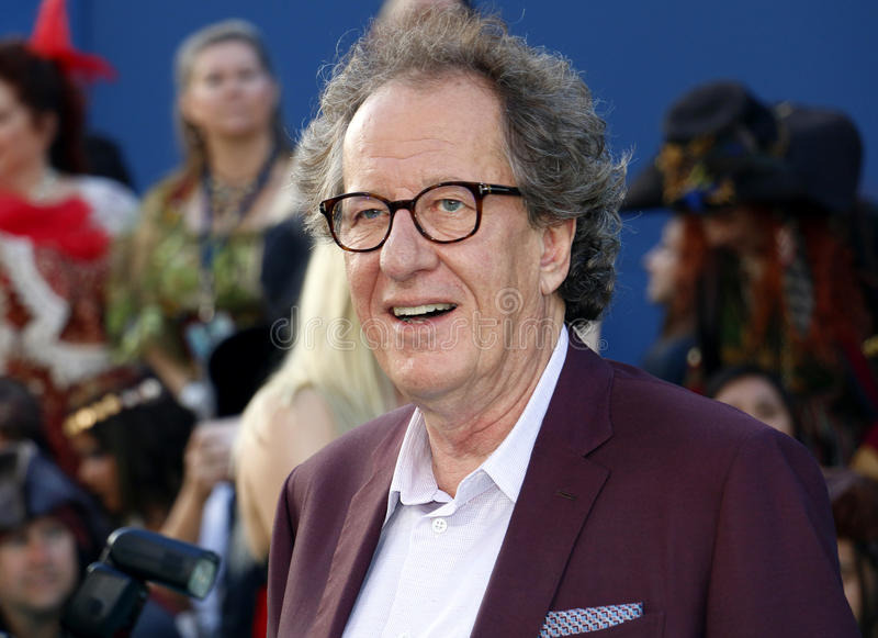 Geoffrey Rush. At the U.S. premiere of `Pirates Of The Caribbean: Dead Men Tell No Tales` held at the Dolby Theatre in Hollywood, USA on May 18, 2017 royalty free stock photos