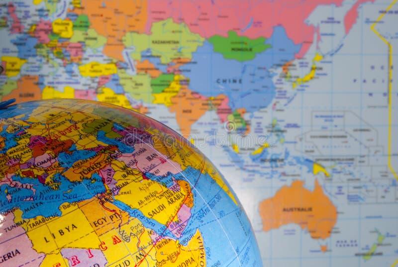 Geografia política fotografia de stock royalty free