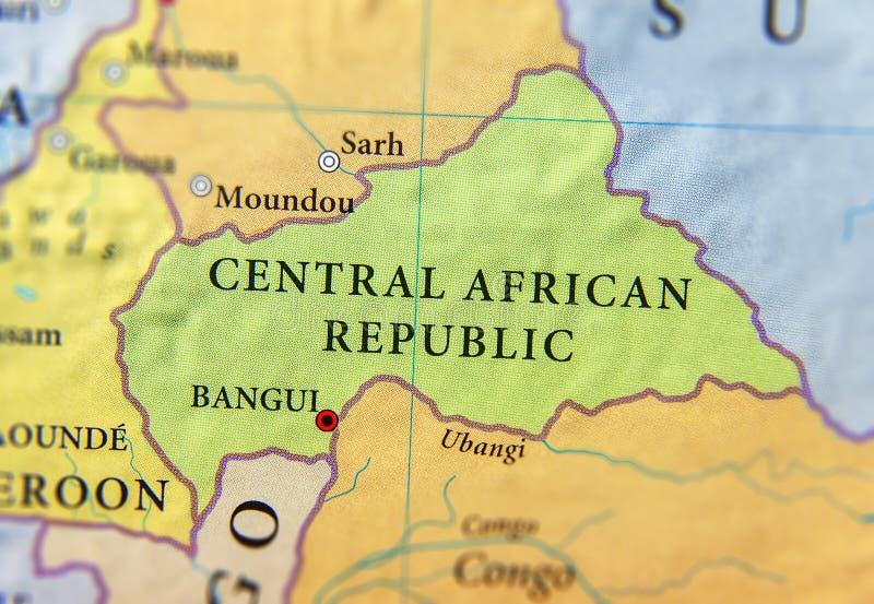Afbeeldingsresultaat voor centraal afrikaanse republiek: geografische kaart