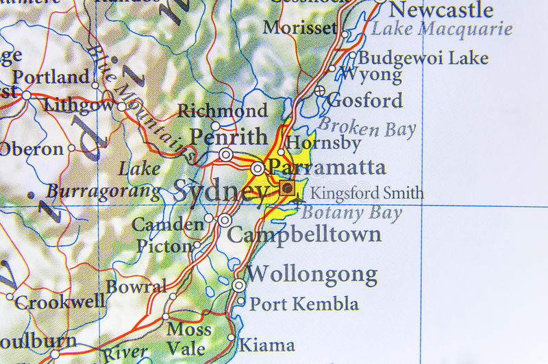 Geographic map of australia with sydney city stock image image of download geographic map of australia with sydney city stock image image of travel geography gumiabroncs Gallery