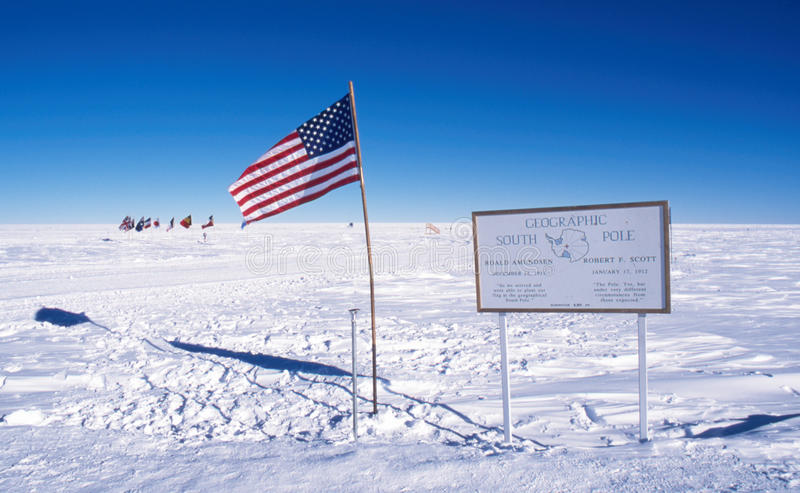 Download Geographic South Pole stock image. Image of american - 12518925
