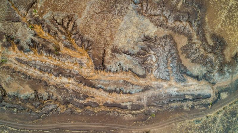 Geographical feature rift valley, Tanzania. Geographical feature rift valley, Arusha, Tanzania stock images