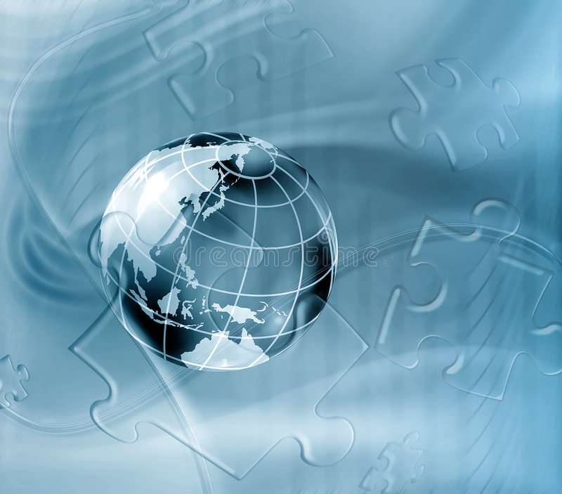 Geography abstract background stock illustration