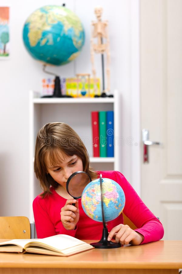 Download Geography class stock image. Image of learning, globe - 20426137
