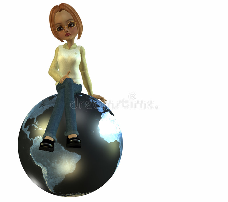Download A Geography Teacher Stock Images - Image: 1123464