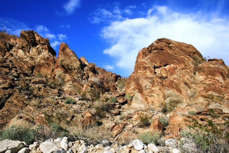 Geologia della traccia di Lykken immagine stock