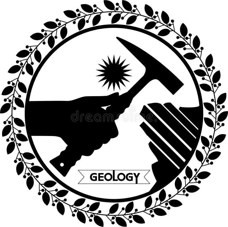Geologia do dia ilustração stock