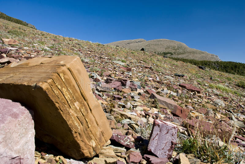 Geological diversity royalty free stock image