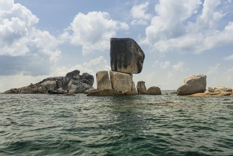 Koh Lipe Stack Rock stock photos