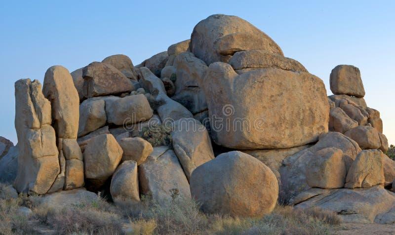 geologiczne formacji rock obraz royalty free