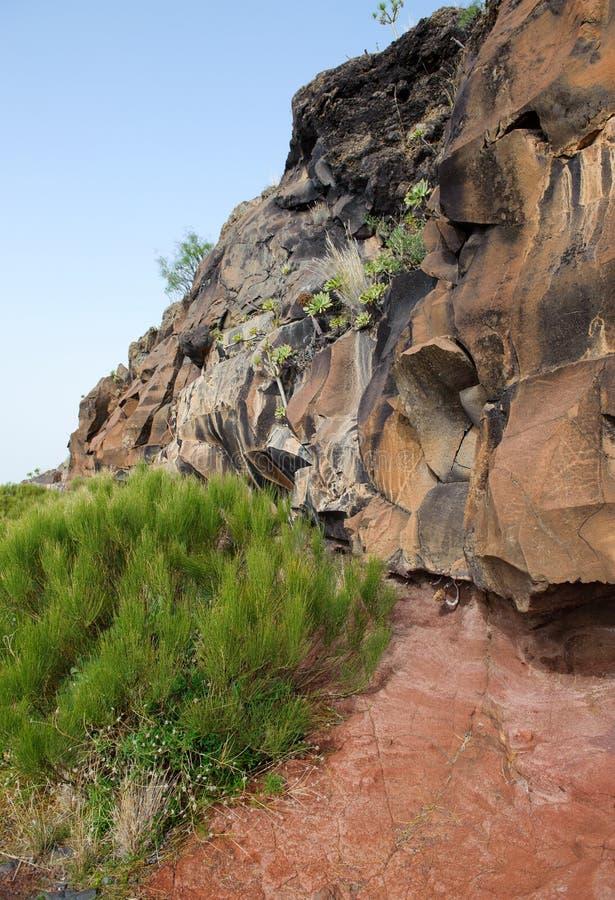 Geologische Anordnung stockbilder
