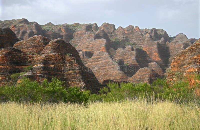Geologisches Merkmal von Rolling Hills stockfotografie