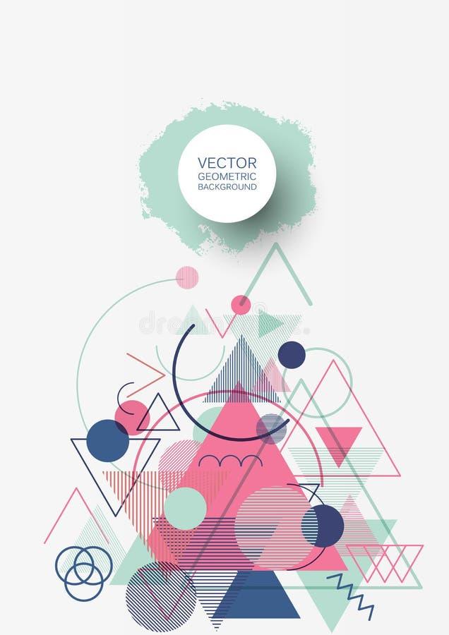 Geométrico abstracto libre illustration