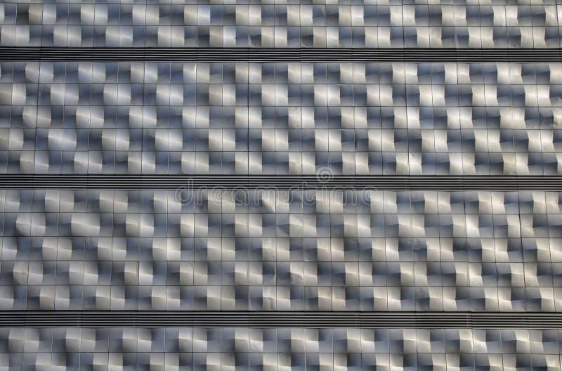 Geométrico abstracto aleaciones de aluminio foto de archivo libre de regalías