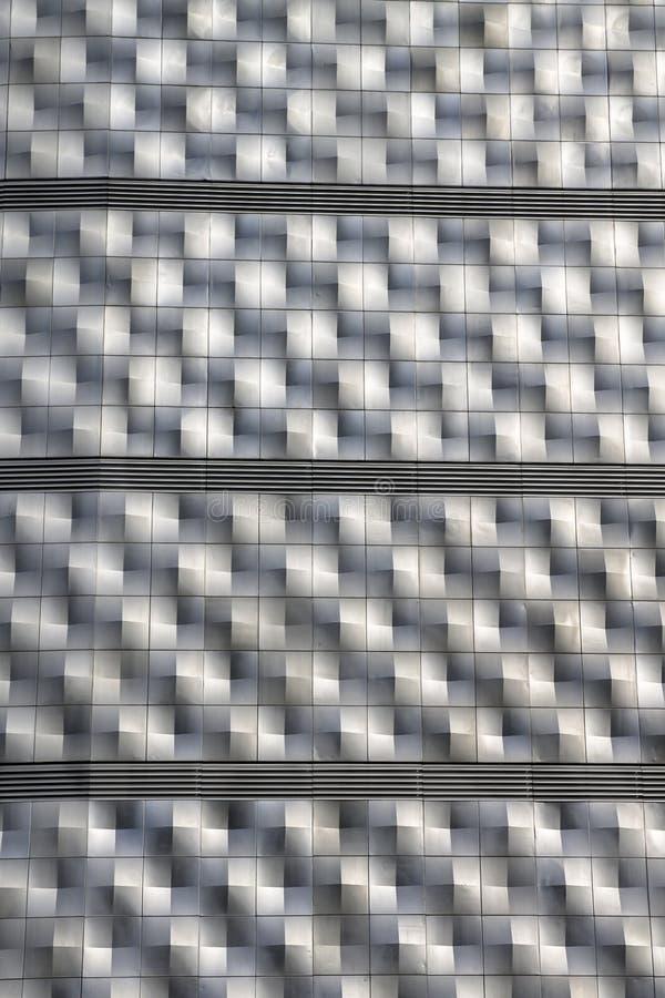 Geométrico abstracto aleaciones de aluminio foto de archivo
