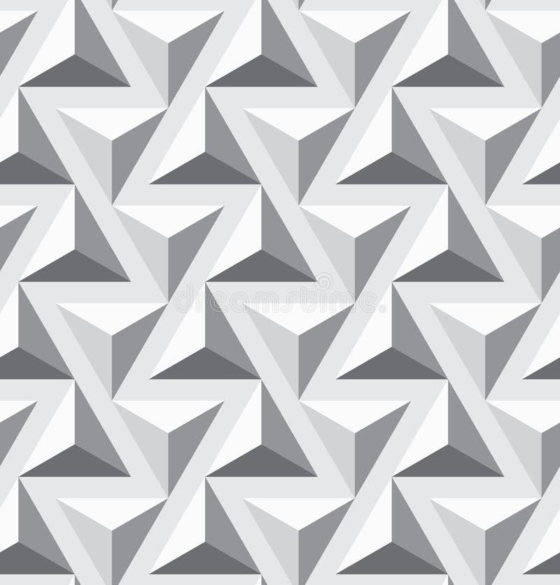 Geométricos inconsútiles optan textura del triángulo libre illustration