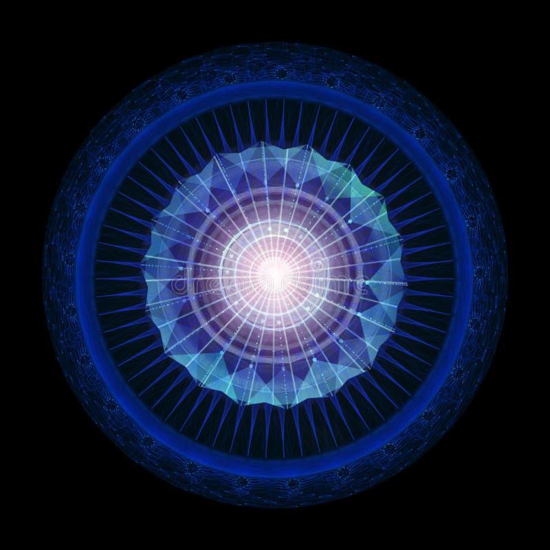 Geom?trico abstracto Ciencia ficción, futurista libre illustration