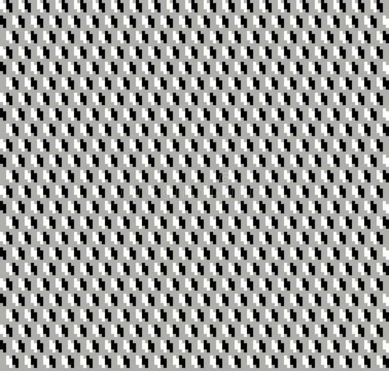 Geomatric powtórki wzoru abstrakcjonistyczny komputer wytwarzający wizerunek i tapetowy projekt ilustracji
