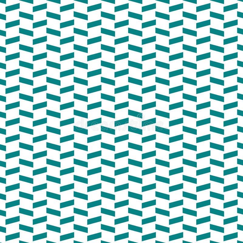 Geomatric Vectorpatroon Abstracte blauwe en witte achtergrond vector illustratie