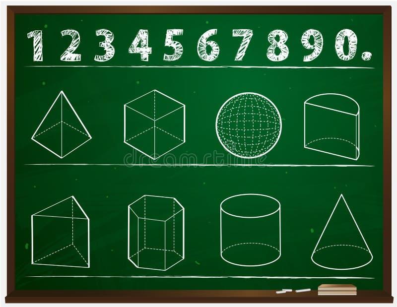 Geometría stock de ilustración