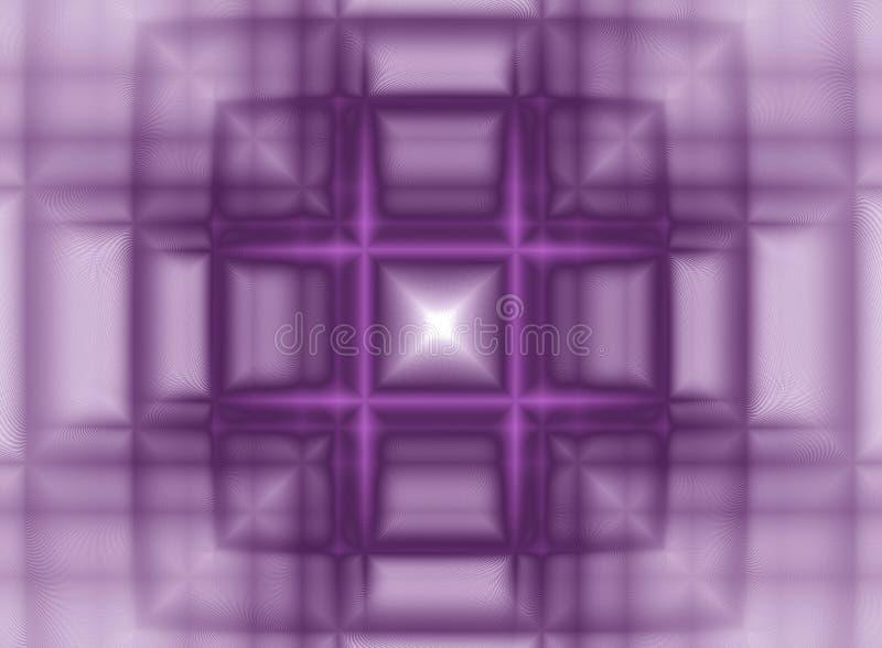 Geometría de espacio ilustración del vector