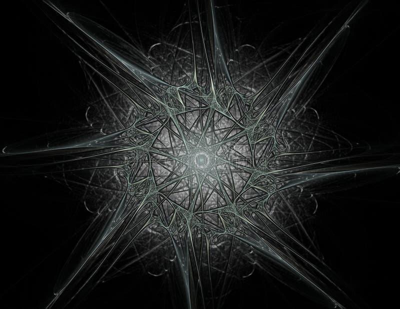 Geometría de la serie del espacio Contexto visualmente atractivo hecho de c ilustración del vector