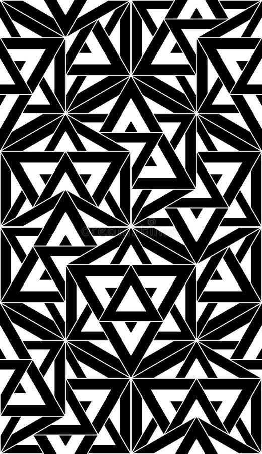 Geometría sagrada del modelo inconsútil moderno del vector libre illustration