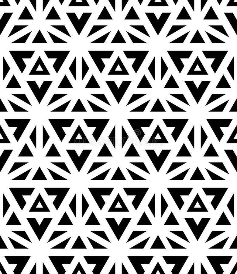 Geometría sagrada del modelo inconsútil moderno del vector ilustración del vector