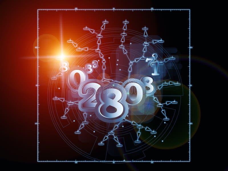 Download Geometría virtual stock de ilustración. Ilustración de ilumine - 42427635
