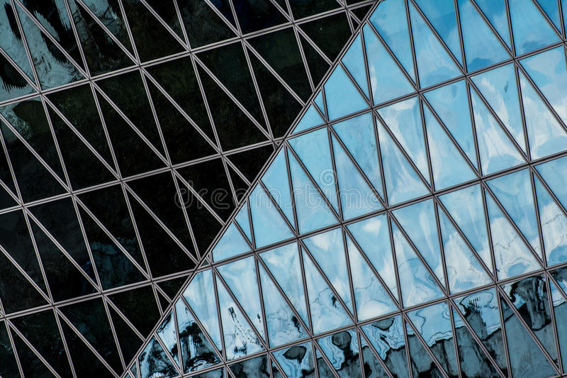 Geometría y Archtecture foto de archivo