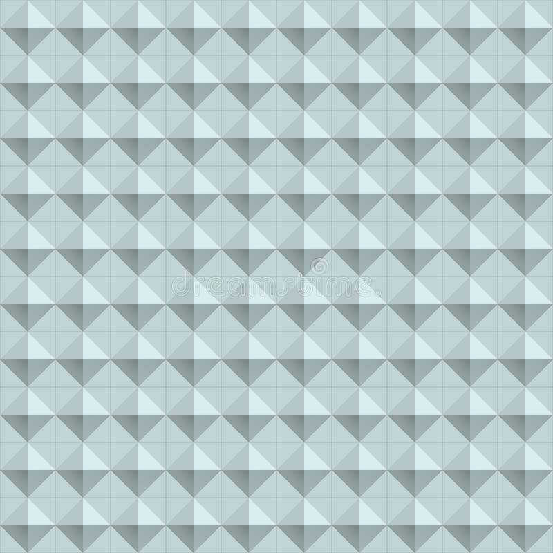 Geometri texturerar seamless royaltyfri illustrationer