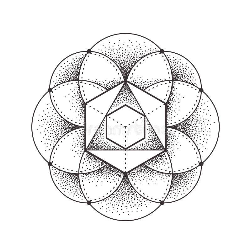 geometria święta royalty ilustracja