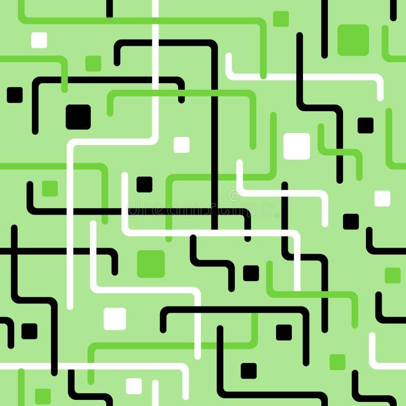 A geometria alinha sem emenda ilustração royalty free
