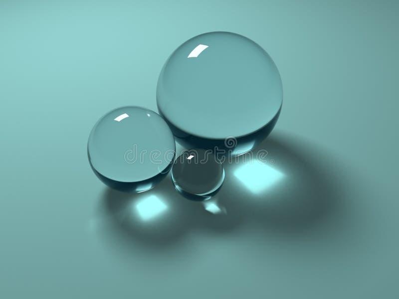 Geometria de vidro ilustração do vetor