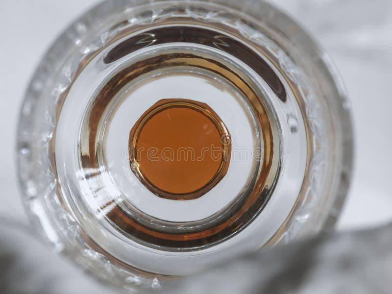 Geometria do vidro colorido fotografia de stock