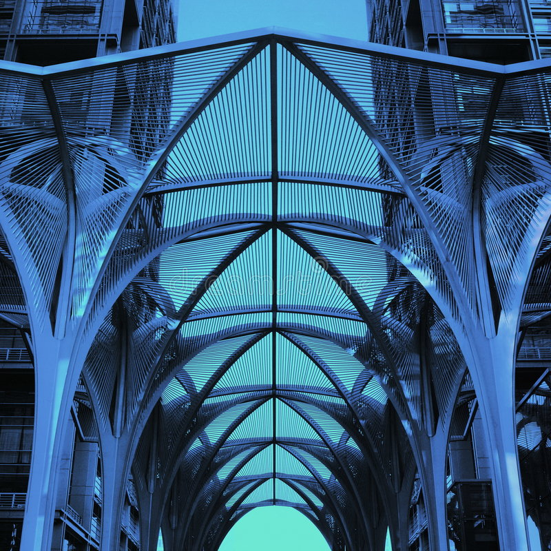 Geometria e arquitetura fotos de stock