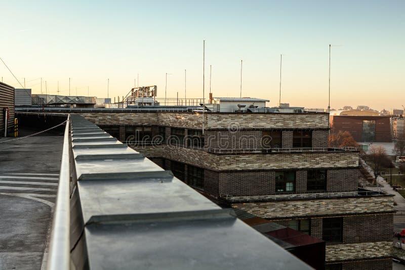 geometria miejskiej abstrakcjonistyczny architektoniczny projekt obrazy royalty free