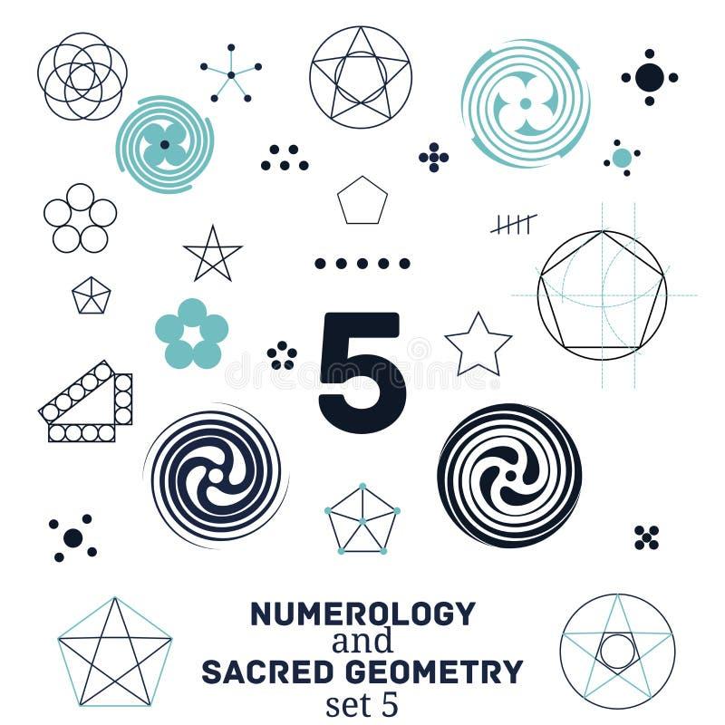 Geometria sagrado ilustração royalty free