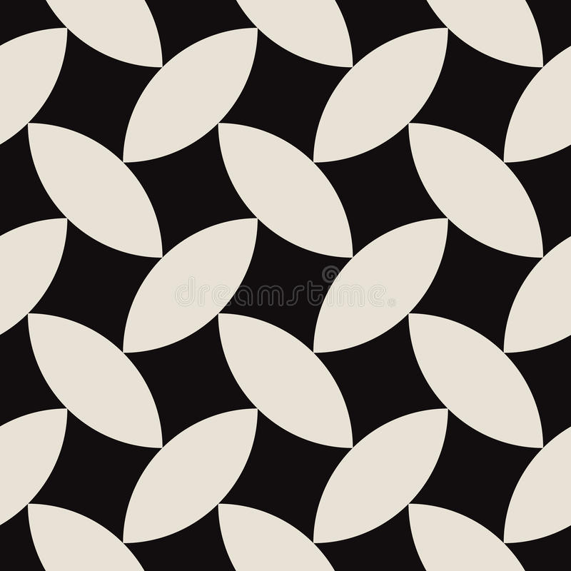 Geometric abstract art pattern composed fabric stock image