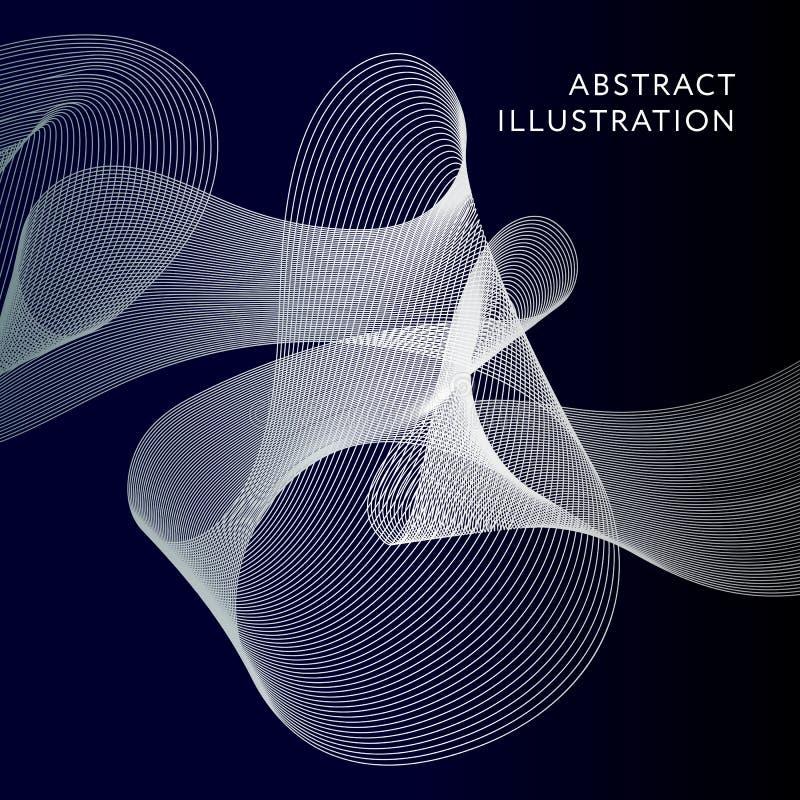 Geometric Abstract Illustration Background Vector Shape Banner stock illustration