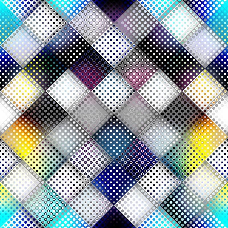 Geometric abstract pattern. stock illustration