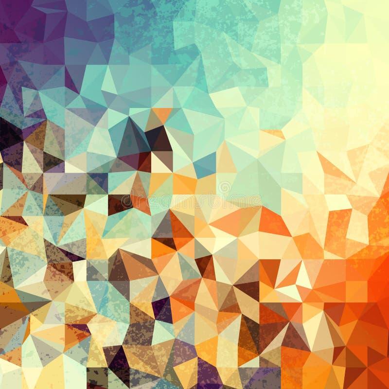 Geometric abstract pattern. vector illustration