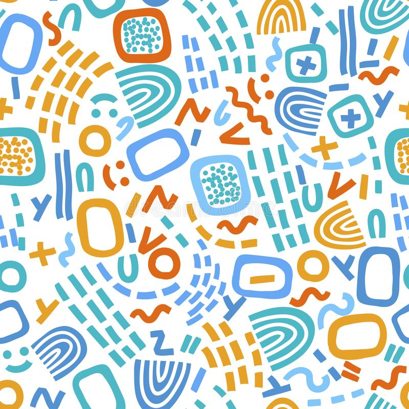 Geometric abstract pattern royalty free stock photos