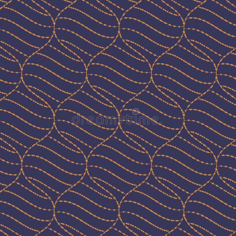 The geometric abstract pattern. vector background. Black and gold texture. Graphic modern pattern. vector illustration