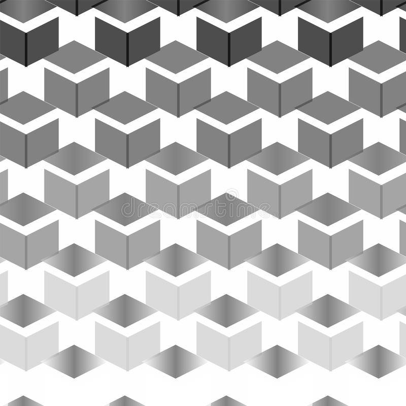Geometric Abstract Random Texture, Background Pattern. From repetitive shapes stock illustration